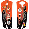 Attack Graphics Deseret Lower Fork Guard Decal