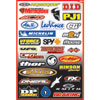 Factory Effex Sponsor Sticker Kit B-3