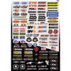 Factory Effex Micro Sponsor Sticker Kit