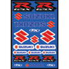 Factory Effex Suzuki GSXR Sticker Sheet