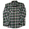 Factory Effex Kawasaki Flannel Long Sleeve Button Up Shirt
