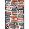 Factory Effex Sponsor Sticker Kit Fun Phrases