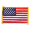 Hot Leathers Embroidered Patch -  American Flag
