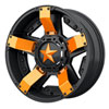 KMC XS811 Rockstar II Wheel Colored Spoke Inserts