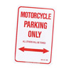 M/C Enterprises Parking Only Sign - Motorcycle