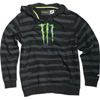 One Industries Monster Right Lane Zip-Up Hooded Sweatshirt