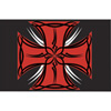 Tusk Tribal Iron Cross Replacement Flag