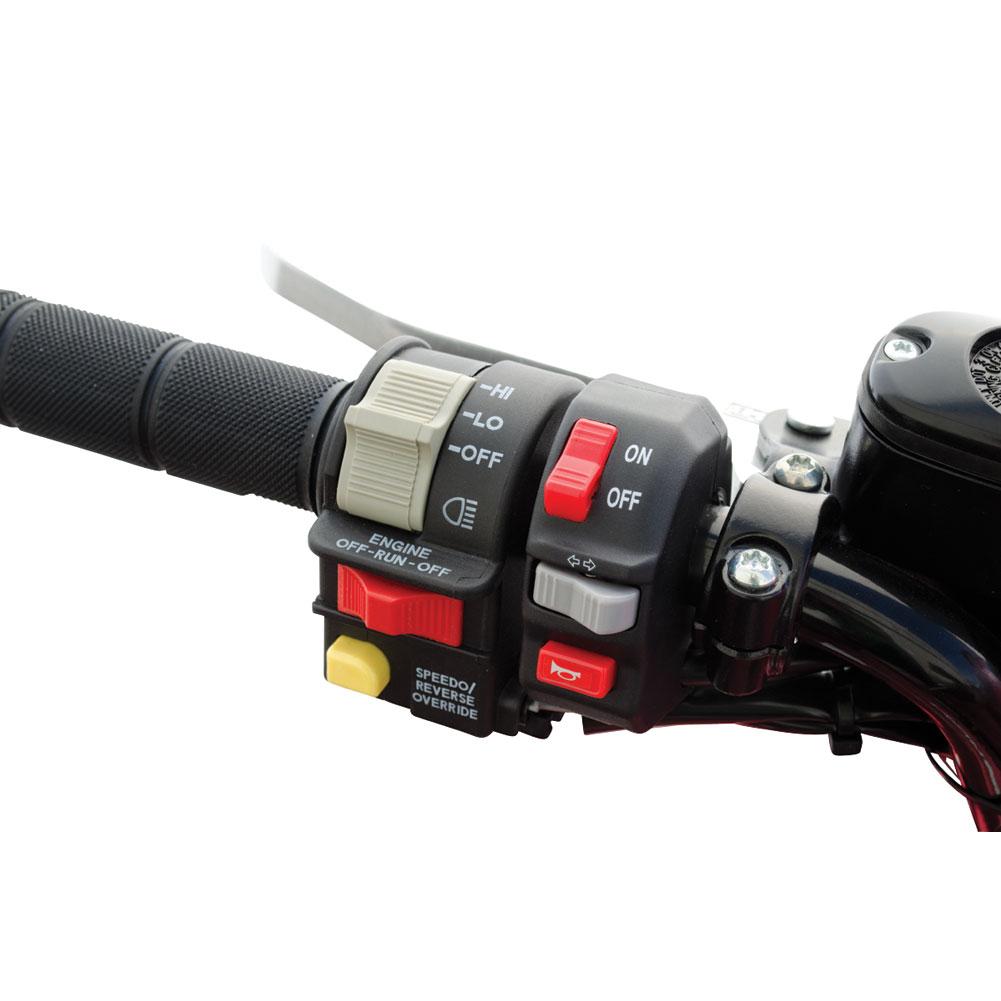 Tusk ATV Horn /& Signal Kit with Recessed Signals KODIAK 400 4x4 Auto 2000-2006