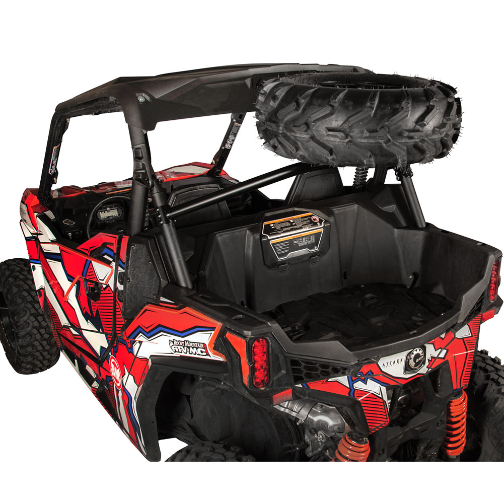 Fits Tusk Spare Tire Carrier Can-Am Maverick X3 X RC Turbo 2018-2019