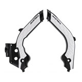 Acerbis X-Grip Frame Guards Black/White