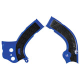 Acerbis X-Grip Frame Guards Blue/Black