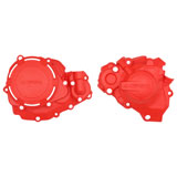Acerbis X-Power Crankcase and Ignition/Clutch Cover Kit 00 CR Red
