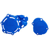 Acerbis X-Power Crankcase and Ignition/Clutch Cover Kit YZ Blue
