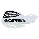 Acerbis Uniko Vented Handguards White/Black