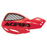 Acerbis Uniko Vented Handguards Red/Black