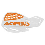 Acerbis Uniko Vented Handguards White/Orange