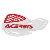 Acerbis Uniko Vented Handguards White/Red