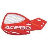 Acerbis Uniko Vented Handguards 16 KTM Orange/White