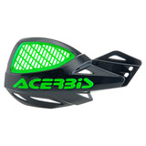 Acerbis Uniko Vented Handguards Black/KX Green