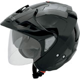AFX FX-50 Open-Face Helmet Black