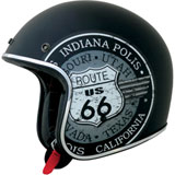 AFX FX-76 Route 66 Open-Face Helmet