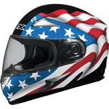 AFX FX-90 US Flag Full-Face Helmet