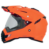 AFX FX-41 Dual Sport Motorcycle Helmet Safety-Orange