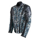 AGV Sport Nomad Camo-Leather Motorcycle Jacket