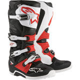 Alpinestars Tech 7 Boots 2019 Black/White/Red