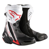 Alpinestars Supertech R Motorcycle Boots Black/Red/White