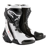 Alpinestars Supertech R Motorcycle Boots Black/White
