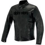 Alpinestars Black Shadow Huntsman Leather Jacket