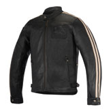 Alpinestars Oscar Charlie Leather Jacket Black