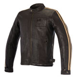 Alpinestars Oscar Charlie Leather Jacket Brown