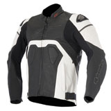 Alpinestars Core Airflow Perforated Leather Jacket Black/White