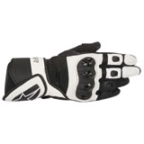 Alpinestars Women's Stella SP Air Leather Gloves Black/White