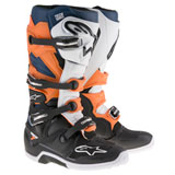 Alpinestars Tech 7 Boots  Black/Orange/White/Blue