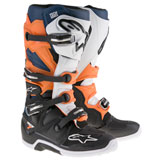 Alpinestars Tech 7 Enduro Boots Black/Orange/White/Blue