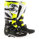 Alpinestars Tech 7 Enduro Boots Black/White/Flourescent Yellow Vented