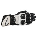 Alpinestars GP Plus R Leather Gloves Black/White