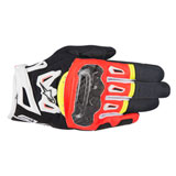 Alpinestars SMX-2 Air Carbon Gloves Black/Red/Yellow