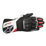 Alpinestars SP-8 Gloves Black/White/Red