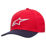Alpinestars Ageless Curve Flex Fit Hat Red/Navy