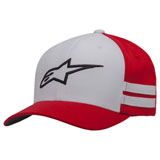 Alpinestars Sideline Flex Fit Hat Red