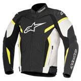 Alpinestars GP Plus R v2 Leather Jacket Black/White/Yellow