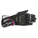 Alpinestars Women's Stella SP-8 Gloves Black/Pink