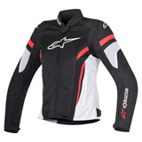 Alpinestars Women's Stella T-GP Plus R v2 Air Jacket Black/White/Red