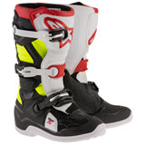 Alpinestars Youth Tech 7S Boots Black/Red/Yellow