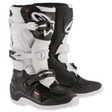 Alpinestars Youth Tech 7S Boots Black/White