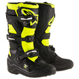 Alpinestars Youth Tech 7S Boots Black/Yellow